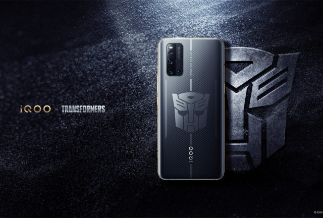 iQOO 3 5G Transformers Limited Edition