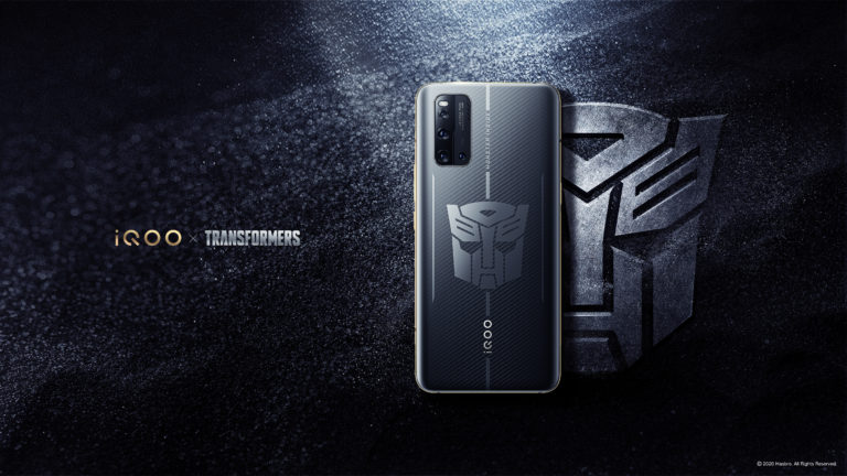 iQOO 3 5G Transformers Limited Edition