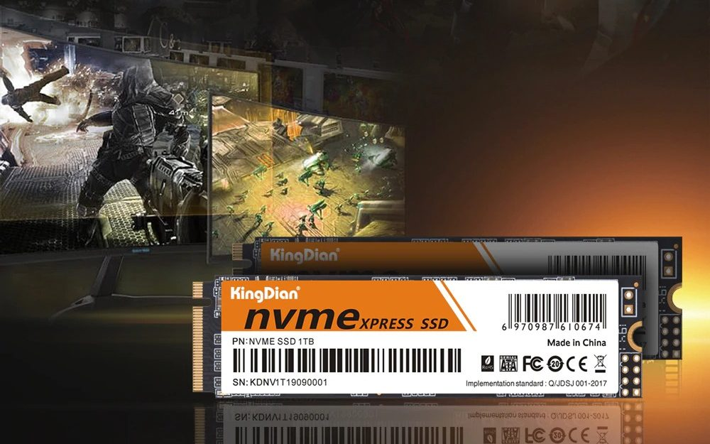 KingDian m2 NVME SSD disk