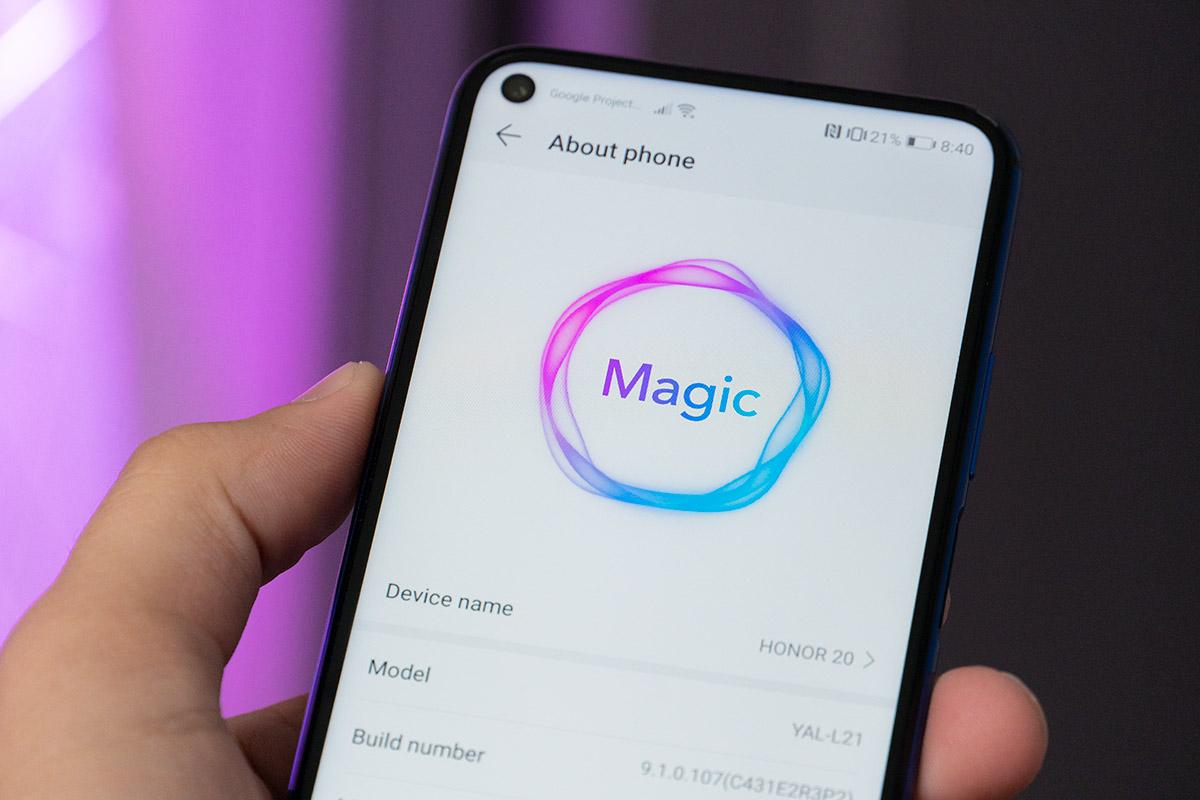 Honor - Magic UI