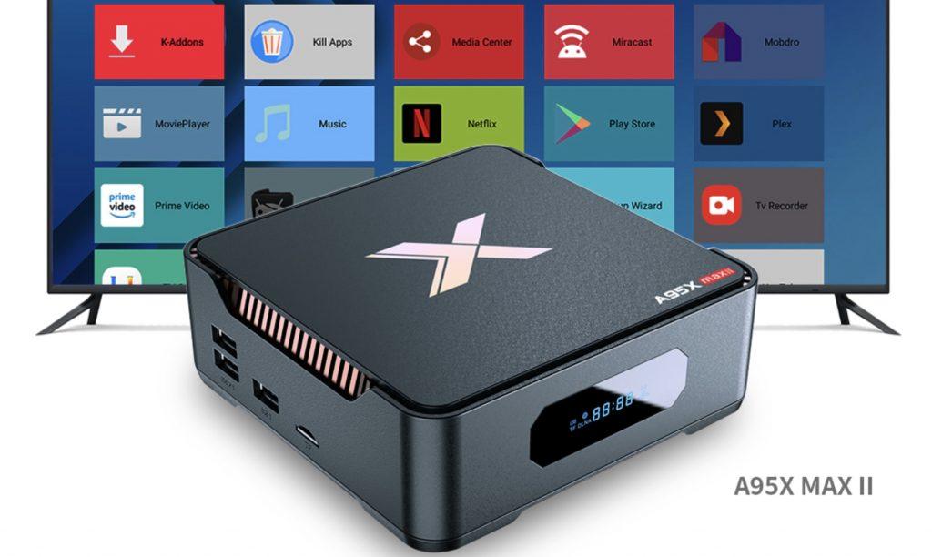 TV box A95X MAX II