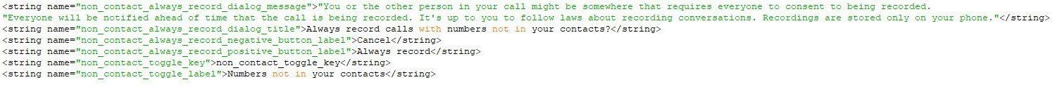 google telefon kod