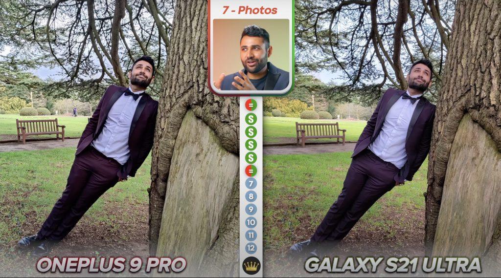 oneplus 9 pro vs galaxy s21 ultra
