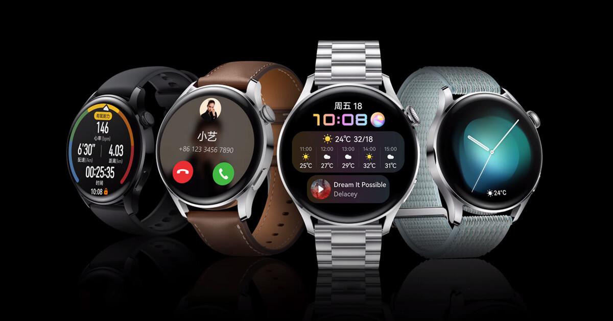 Huawei Watch 3 a Watch 3 Pro: Špičkové smartwatch s HarmonyOS